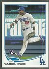 YASIEL PUIG 2013 TOPPS ( FIRST ROOKIE ) CARD LOS ANGELES DODGERS/BCP