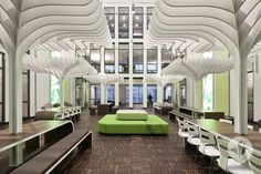 Built by Dan Pearlman in Berlin, Germany with date 2010. Images by diephotodesigner.de. MTV Networks' personnel can rejoice: with the redesigned and newly organized reception, meeting and break room areas ...
