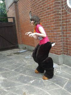 Satyr Costume Craft