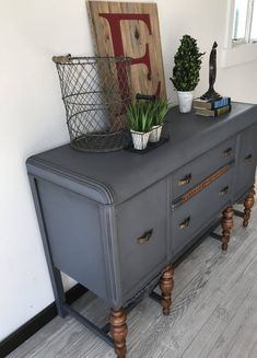 This incredible, ornate buffet was refurbished by Laura from Blue Door Decor with Hurricane and Antiquing Wax. Furniture Wax, Primitive Furniture, Chalk Paint Furniture, Repurposed Furniture, Refinished Furniture, Antique Furniture, Furniture Ideas, Painted China Cabinets, Painted Buffet