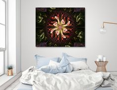 Discover «Hummingbirds' Gathering», Exclusive Edition Canvas Print by Nismah Shargawi - From $65 - Curioos