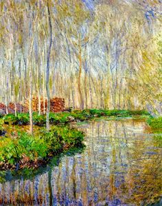 Masterpiece of Art: Claude Monet - The River Epte