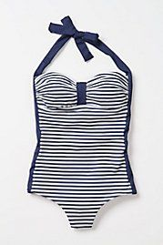 Cute one piece from Anthropologie.