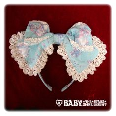 Baby, the stars shine bright Angel's whisper in the holy night melody Pattern Head Bow