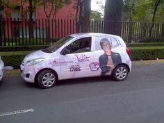 Publicidad de serie de televisión Violetta por Disney Channel