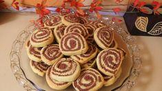Δίχρωμα μπισκότα βανίλια - σοκολάτα! // Pinwheel vanilla - chocolate coo...