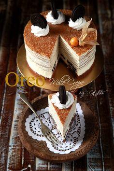 masam manis: World of Crepes dalam AROMA bulan ini Sweet Recipes, Cake Recipes, Dessert Recipes, Sweets Cake, Cupcake Cakes, Crepes Party, Delicious Desserts, Yummy Food, Crepe Cake