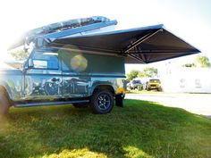 Expedition Awnwing, With Cover Land Rover Defender Camping, Defender Camper, Off Road Camping, Truck Camping, Suv Camper, Camper Van, Sun Awnings, Tent Awning, Van Home