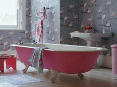 Tapisserie leroy merlin salle de bain originale