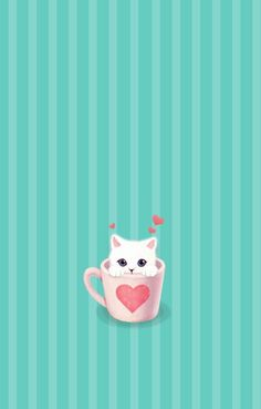 Appealing iphone simple funny cat wallpaper phone image for cute Funny Cat Wallpaper, Cute Wallpaper For Phone, Cute Wallpapers, Wallpaper Backgrounds, Iphone Wallpaper, Cat Art, Funny Cats, Cute Animals, Illustrations