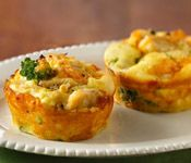 Mini Chicken Broccoli Pies