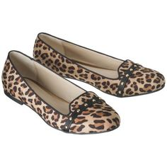 Women's Mossimo Supply Co. Voneta Studded Smoker Flat in Brown Cheetah, Clearance for $10.98 at Target