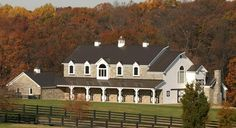 Barn Building 10 Things About Outside Barn Design To Consider, WOW--- I would live in this barn! Equestrian Stables, Horse Stables, Horse Farms, Dream Stables, Barn House Design, Classic Equine, Barn Plans, Garage Plans, Future Farms