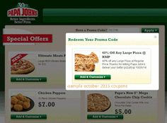 Papa Joes Pizza Coupons Ends of Coupon Promo Codes MAY 2020 ! Locally owned serve a in proudly over operated, well known also Well Jo. Pizza Coupons, Love Coupons, Grocery Coupons, Joe's Pizza, Good Pizza, Coupons For Boyfriend, Longwood Florida, Free Printable Coupons