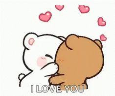 The perfect MilkAndMocha Cute Kiss Animated GIF for your conversation. Discover and Share the best GIFs on Tenor. Kiss Animated Gif, Hug Gif, Cartoon Kiss Gif, Kiss Gifs, Love You Gif, Cute Love Gif, Cute Couple Cartoon, Cute Love Cartoons, Calin Gif