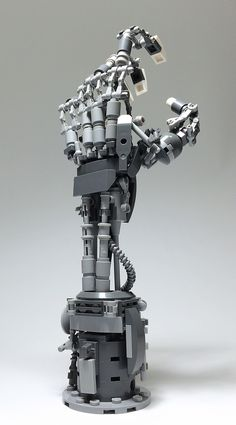 """""""LEGO Mech Hand-15"""" by ToyForce 120: Pimped from Flickr"""
