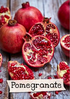 Want to learn more about pomegranate? Sign up for Jamie Oliver's Kitchen Garden Project at http://www.jamieskitchengarden.org/!