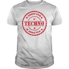 Awesome Dance Dancing Dancer Lovers Tee Shirts Gift for you or your family member and your friend:  Addited to TECHNO Tee Shirts T-Shirts