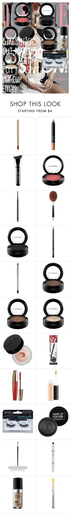 """""""GIRLS NIGHT OUT MAKEUP   Katy Perry Inspired Makeup   Eman"""" by oroartye-1 on Polyvore featuring beauty, L'Oréal Paris, NARS Cosmetics, Sigma, MAC Cosmetics, Artis, MAKE UP FOR EVER, Christian Dior, NYX and Chanel"""