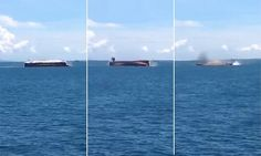 Major rescue operation underway after ferry carrying 51 people capsizes near Bali, throwing passengers into the sea