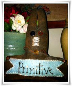 Primitive Bunny Sitter