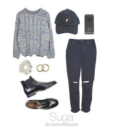 """""""BTS Inspired  [sweaters]"""" by youaremorethanbeautiful ❤ liked on Polyvore featuring Topshop, See You Never and Chanel"""