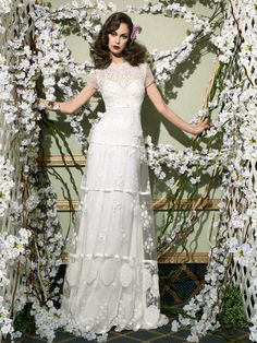 Vestido de novia vintage de YolanCris	 Vintage wedding dress by YolanCris : Romantic Vintage Novias 2014