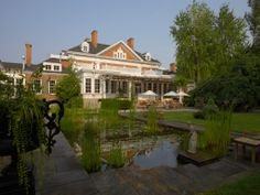 Langdon Hall Country House Hotel & Spa, Cambridge, ON (Relais & Chateaux) Hotels And Resorts, Cambridge Ontario, Country House Hotels, Modern Country, Hotel Spa, Hotel Reviews, Resort Spa, Backyard, Gourmet