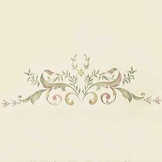 Elegant Ceiling Decoration - Classic Paint Stencils with European Design - Wall and Ceiling Stencils - Royal Design Studio