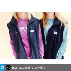 @jcg_apparel_starkville・・・COLUMBIA VESTS! Just in and perfect for holiday gifts! Also, our comfort color long sleeves are now buy one, get one!  Open today until 5:30 and tomorrow until 5pm!