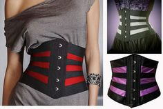 eee5e926db 11 euro incl shipping Women Black Stripe waist cincher Corpete Steampunk  slimming corsette plus size training