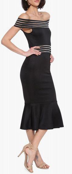 Maria Off The Shoulder Dress