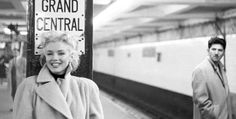 Marilyn Monroe at Grand Central, Ed Feingersh.
