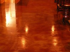 THIS IS COOL - STAINING CONCRETE
