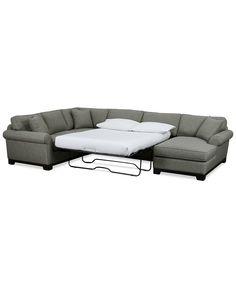 Kenton Fabric Sofa Bed Queen Sleeper Custom Colors New House