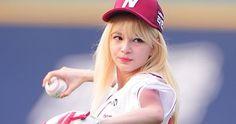 Shannon is a sweet baseball girl Baseball Girls, Singers, Fans, Kpop, Female, Sweet, Candy, Singer