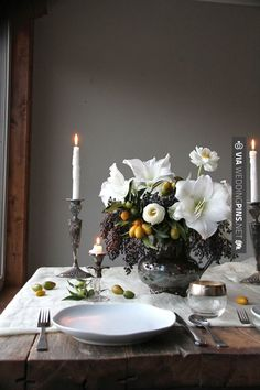 So good - Fall table, flowers by a Honey of a Thousand Flowers | CHECK OUT MORE GREAT BLACK AND WHITE WEDDING IDEAS AT WEDDINGPINS.NET | #weddings #wedding #blackandwhitewedding #blackandwhiteweddingphotos #events #forweddings #iloveweddings #blackandwhite #romance #vintage #blackwedding #planners #whitewedding #ceremonyphotos #weddingphotos #weddingpictures