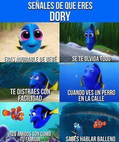 I am dory 😁😊 Funny Spanish Memes, Spanish Humor, Funny Memes, Jokes, Meme Meme, Funny Pins, Kawaii Disney, Kawaii Anime, Pokemon