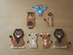 Felt creations ... and more: Nana beads disney