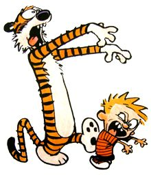 Calvin and Hobbes zombie