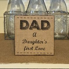 Dad A Daughter's First LoveFather's Day by DaisyPatchPrimitives