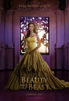 Emma Watson as Belle in the live action film Beauty & the Beast 2017