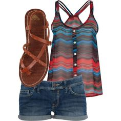Great outfit for a hot summerday  #girlsoutfit #summerdress
