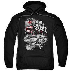 Man Of Steel/Scratchy Steel-Black