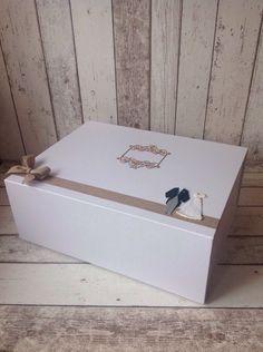Details about Wedding Keepsake Box great Gift To Bride & Groom ...