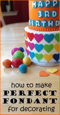 Make your own fondant!!