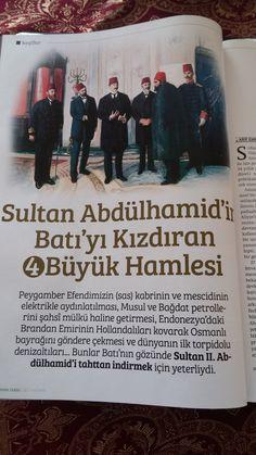 Sultan #AbdülhamidHan'ın Batı'yı kızdıran 4 büyük hamlesi.. #OsmanlıDevleti Ottoman Empire, Islam, Trust, Believe, Dating, History, Learning, Good To Know, Education