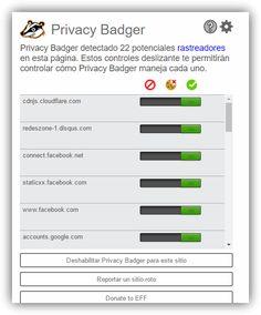 La extensión anti-rastreo Privacy Badger 2.0 ya se encuentra disponible