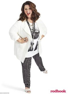 Melissa McCarthy - girl crushes know no size! Melissa McCarthy owns rocks her curves rightfully so! Gilmore Girls, Mellisa Mccarthy, Melissa Mccarthy Clothing Line, Mc Carthy, Dresser, Plus Size Kleidung, Fashion Outfits, Womens Fashion, Plus Size Women
