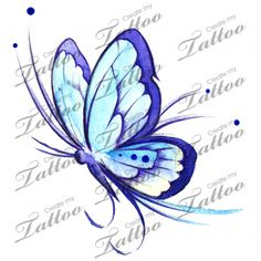 Marketplace Tattoo Butterfly V #17475 | CreateMyTattoo.com
